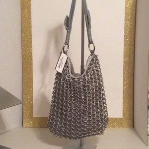 Uniquely Styled Whiting and Davis Handbag
